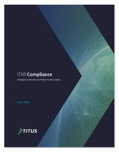 Titus ITAR compliance shite paper thumbnail